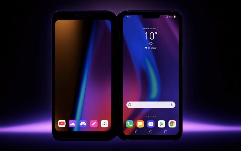"""""""LG"""" хоёр дэлгэцтэй ухаалаг гар утас танилцуулав"""