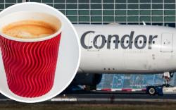 Аяга кофеноос болж онгоц осолдуулах шахжээ