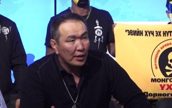 """""""Босоо хөх монгол"""" ТББ-ын тэргүүн Г.Ганхуягийг баривчилжээ"""