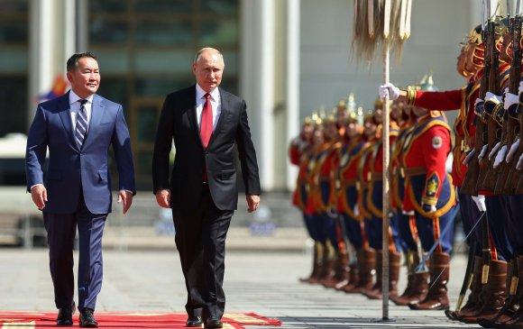 Монгол, Оросын дипломат харилцаа дээд түвшинд хүрлээ