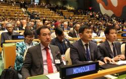 НҮБ-ын Ерөнхий Ассамблейн чуулган эхэллээ