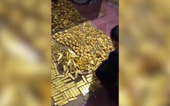Хятадын албан тушаалтан асан зоорийн давхартаа 13 тонн алт нуусан байжээ