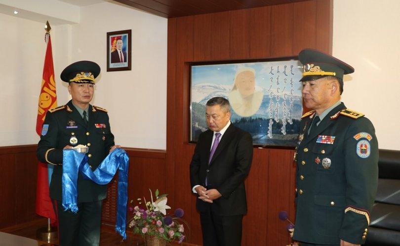 ЗХЖШ-ын даргаар бригадын генерал Д.Ганзоригийг томиллоо