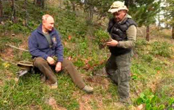 Путин Сибирийн тайгад 67 насны төрсөн өдрөө тэмдэглэв