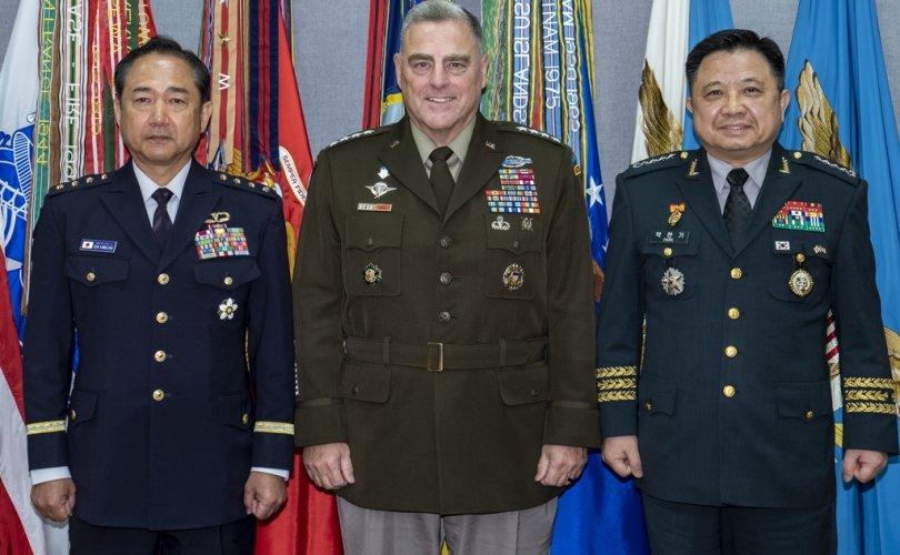 БНСУ, АНУ, Японы армийн командлагч нар Вашингтонд уулзав