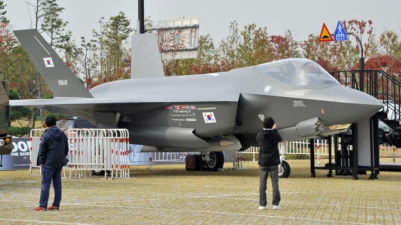 """Сөүл шинэхэн """"F-35"""" сөнөөгч онгоцоор гангарав"""