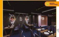 FOOD STREET дэх анхны K-Pop урсгалын Солонгос ресторан