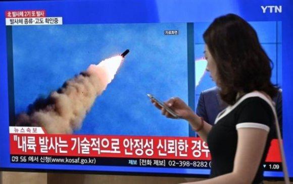 Хойд Солонгос өнөө өглөө хоёр баллистик пуужин харвав
