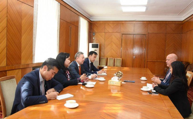 Ардчилсан орнуудын хамтын нийгэмлэгийн төлөөллийг хүлээн авч уулзав