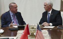 Туркийн ерөнхийлөгч АНУ-ын үгэнд орж, дайралтаа зогсоов