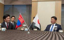 Япон улсын парламентын Төлөөлөгчдийн танхимын гишүүдийг хүлээн авч уулзав