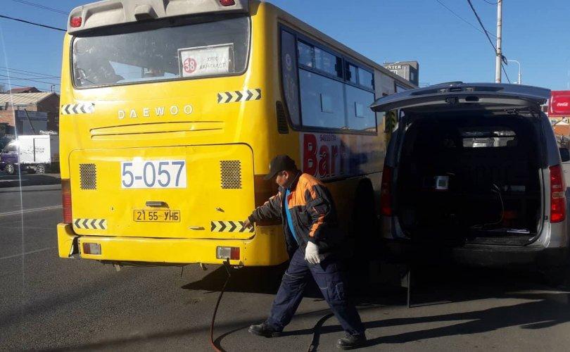 Нийтийн тээврийн үйлчилгээний явуулын оношилгоо болон хяналт шалгалтын ажил эхэллээ