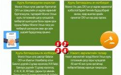 Инфографик: Ноот бичиг соёрхон батлах тухай хуулийн танилцуулга