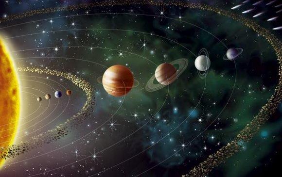 Нар ба гаригуудын хоорондох зай