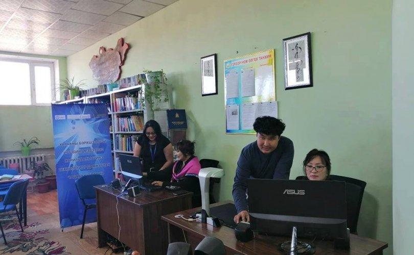 Сүхбаатар аймгийн номын сан харааны бэрхшээлтэй иргэдэд үйлчилнэ