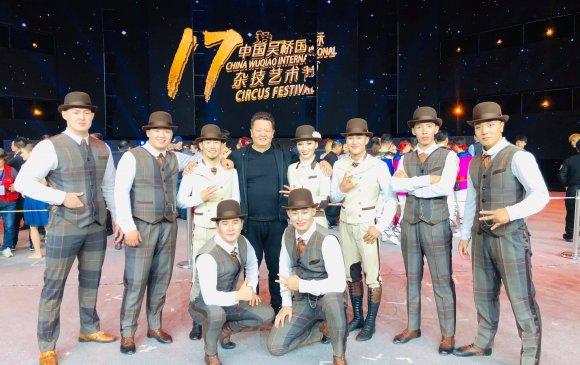 """Монголын циркчид """"А"""" зэрэглэлийн тэмцээнээс мөнгөн медаль хүртжээ"""