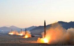Хойд Солонгос хоёр пуужин харвалаа