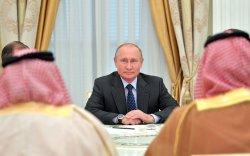 Путин Саудын Арабын хаанд Камчаткийн цагаан шонхор бэлэглэжээ
