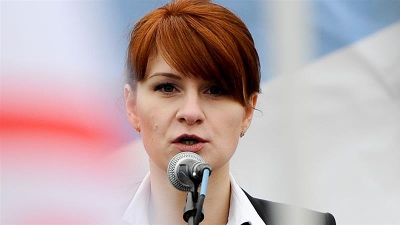 Тагнуул хийсэн хэргээр хоригдсон Орос бүсгүй эх орондоо иржээ