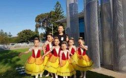 """Бяцхан балетчид """"Vibe"""" олон улсын наадмаас хүрэл медаль хүртжээ"""