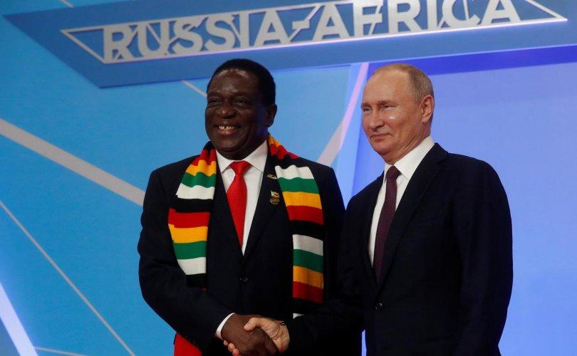 Орос-Африкийн анхны дээд хэмжээний уулзалт Сочи хотод эхэлжээ