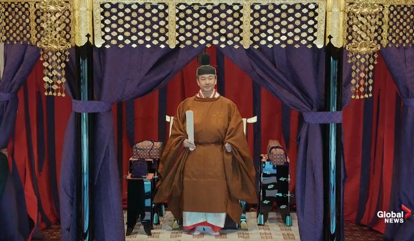 Японы эзэн хааныг хаан ширээнд залах ёслол болж байна