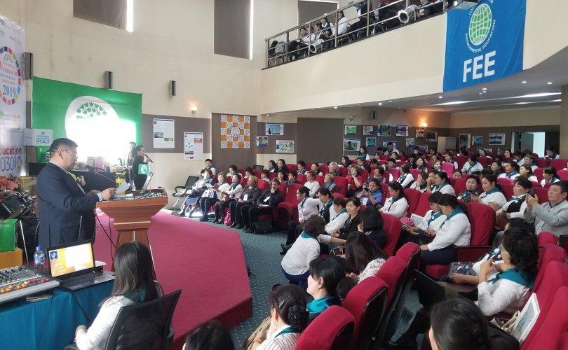 Эко сургууль хөтөлбөрийн үндэсний тавдугаар чуулган боллоо