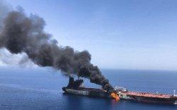 Ираны газрын тос тээвэрлэгч хөлгийг бөмбөгджээ