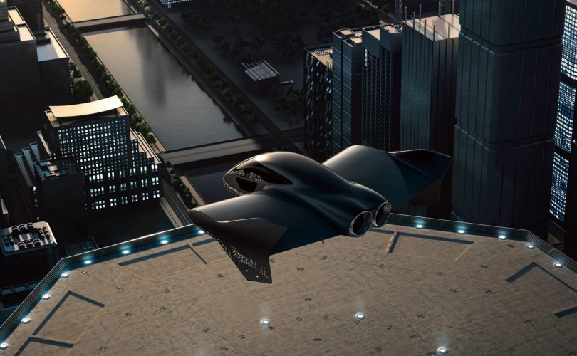 Порше Боингтой хамтарч нисдэг машин бүтээж байна