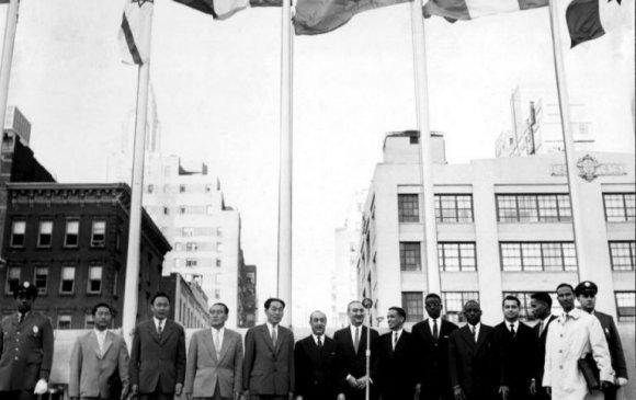 Монгол Улс НҮБ-ын гишүүн болов /1961.10.27/