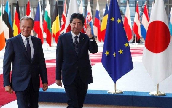 Хятадын нөлөөг бууруулах гэсэн Европын холбоо, Японы нөхөрлөл