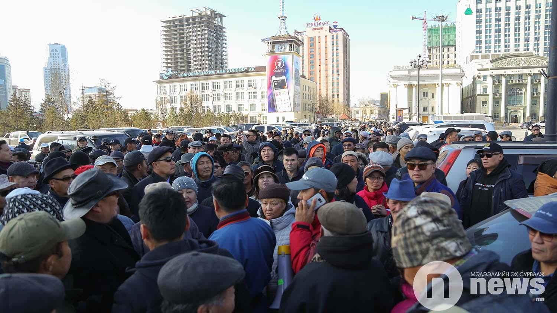 Монголын үндэсний фронт хөдөлгөөн жагсаал (1)