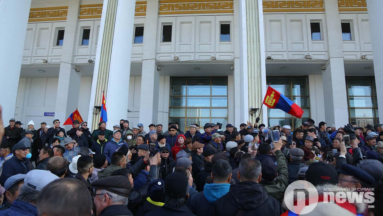 Монголын үндэсний фронт хөдөлгөөн жагсаал (14)