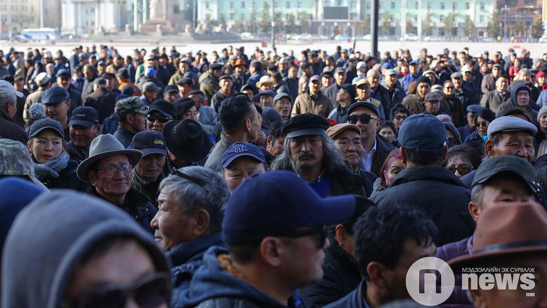 Монголын үндэсний фронт хөдөлгөөн жагсаал (17)