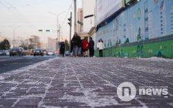 Улаанбаатарт 16 градус хүйтэн, цас орж шуурна
