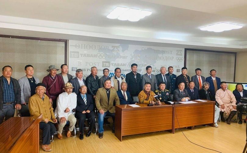 """""""Монголын үндэсний фронт"""" хөдөлгөөний жагсаалыг хойшлуулжээ"""