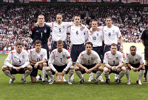 Спортын алтан үе: 2001-2010 оны Английн шигшээ баг