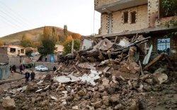 Хүчтэй газар хөдөлснөөс Ираны 41 тосгон сүйрэв