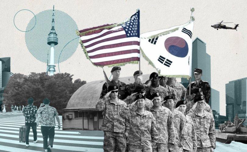 АНУ Өмнөд Солонгосоос цэрэг байршуулсны зардлаа нэмэхийг шаарджээ