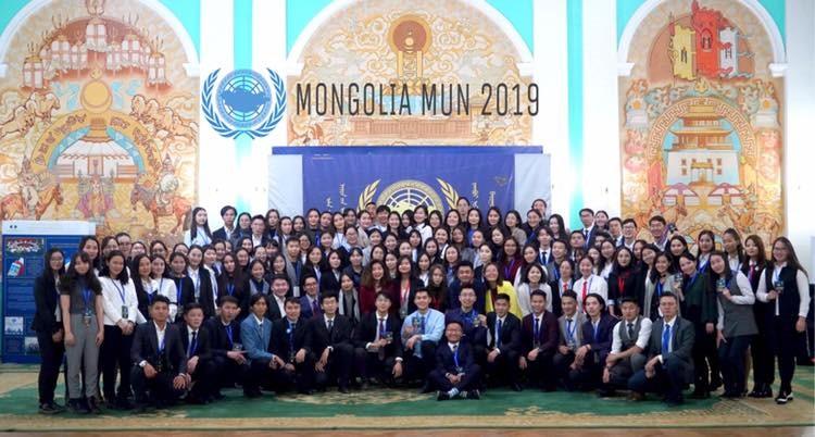 """НҮБ-ын XVI загвар хуралдаан """"MONGOLIA MUN 2019"""" амжилттай зохион байгуулагдлаа"""