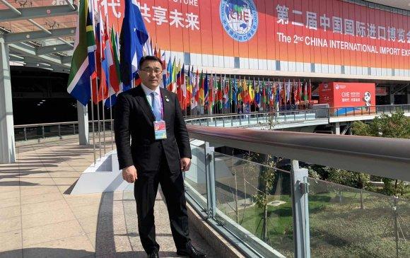 """Д.Сумъяабазар """"Хятадын олон улсын импортын экспо""""-д оролцлоо"""