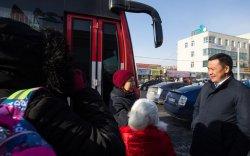 """Б.Отгонсүх: """"Сургуулийн автобус""""-аар хүүхдүүд амар тайван, аюулгүй, тухтай зорчиж байна"""