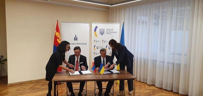 Монгол, Украины иргэд харилцан визгүй зорчино