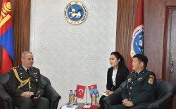 Турк улсын Элчин сайдын яамны цэргийн атташшег хүлээн авч уулзлаа