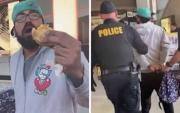 Сэндвич идсэнийхээ төлөө баривчлагджээ
