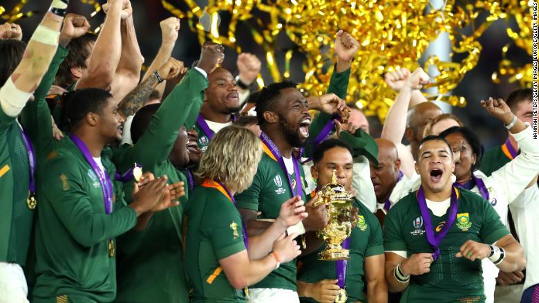 Өмнөд Африк регбигээр Английг хожиж, дэлхийн аварга болов
