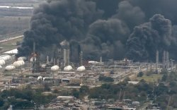 АНУ: Химийн үйлдвэр дэлбэрч, 60 мянган хүнийг нүүлгэн шилжүүлж байна