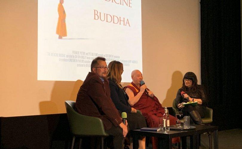 """""""The medicine Buddha"""" баримтат кино нээлтээ хийлээ"""