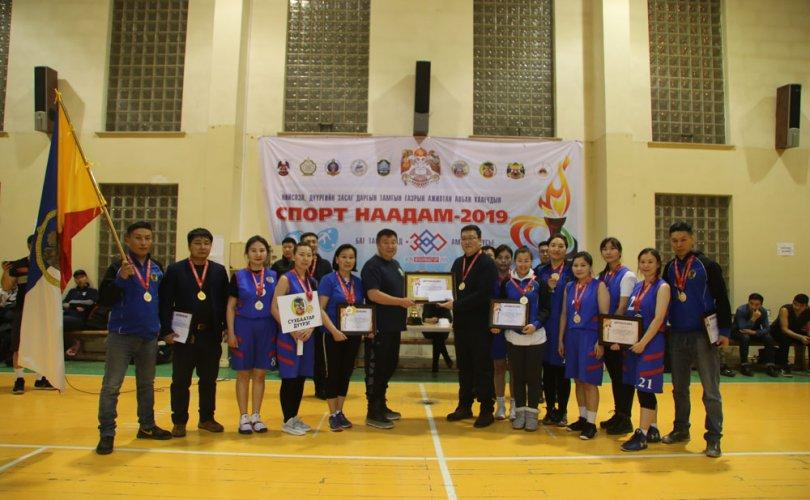 """Сүхбаатарчууд """"Спорт Наадам-2019"""" тэмцээнд багийн нэгдсэн дүнгээр III байрт шалгарлаа"""