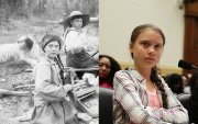 Грета Тунберг цаг хугацаагаар аялагч уу?
